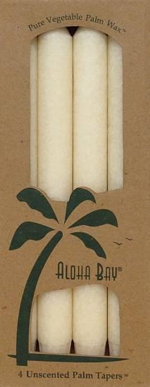 """Aloha Bay - Aloha Bay Candle 9"""" Taper (4 ct)- Ivory"""
