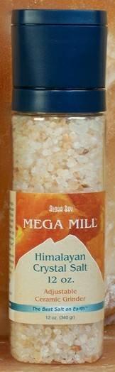 Aloha Bay - Aloha Bay Himalayan Salt Mega Mill 12 oz