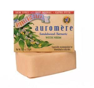Auromere - Auromere Ayurvedic Bar Soap Sandal-Turmeric