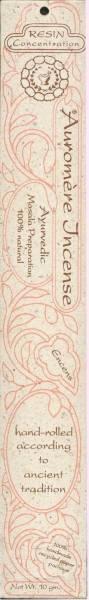 Auromere - Auromere Ayurvedic Incense Resin