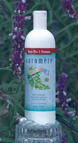 Auromere - Auromere Shampoo Neem Plus 5 Herb 16 oz