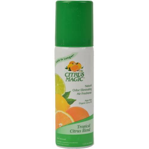 Citrus Magic - Citrus Magic Odor Eliminating Air Freshener 1.5 oz - Tropical Citrus Blend