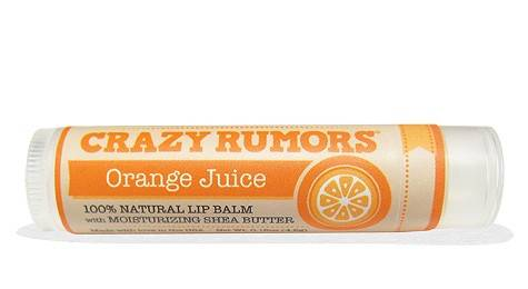 Crazy Rumors - Crazy Rumors Orange Juice Lip Balm
