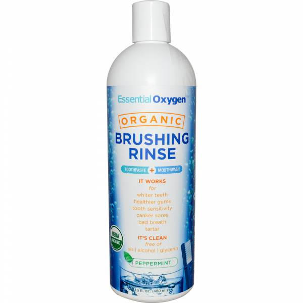 Essential Oxygen - Essential Oxygen Brushing Rinse 16 oz