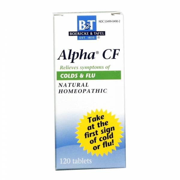 Boericke & Tafel - Boericke & Tafel Alpha CF Colds & Flu 1 oz