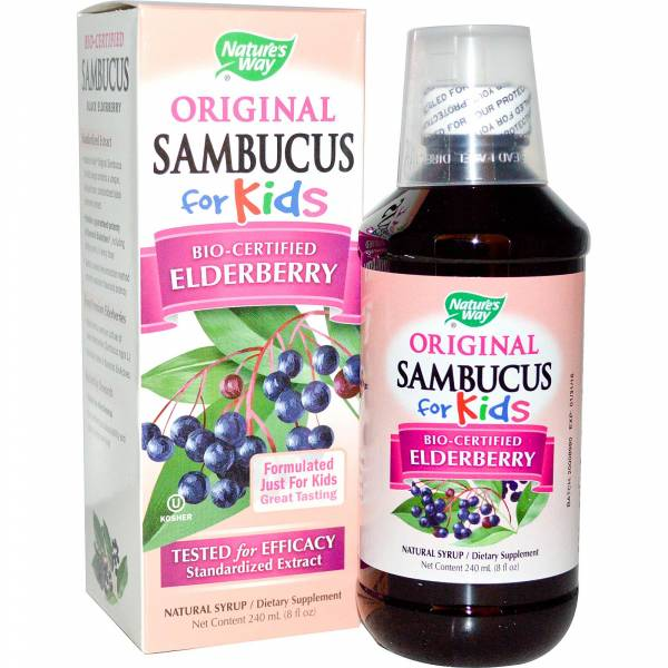 Nature's Way - Nature Way Sambucus for Kids 8 oz