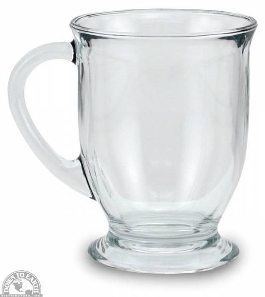 Down To Earth - Anchor Glass Cafe Mug 16 oz