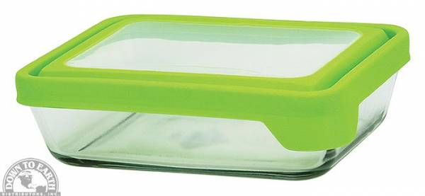 Down To Earth - Anchor TrueSeal Rectangle Storage Dish 6 cups