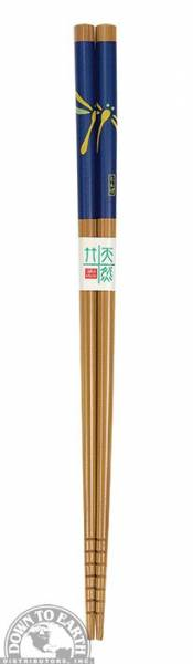 Down To Earth - Bamboo Chopsticks - Blue Dragonfly