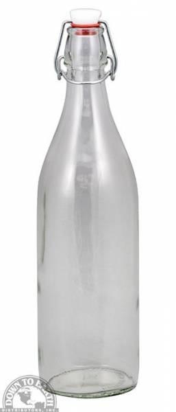 Down To Earth - Bormioli Rocco Giara Bottle 1 Liter - Clear