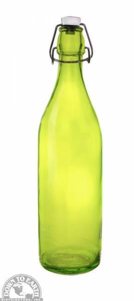 Down To Earth - Bormioli Rocco Giara Bottle 1 Liter - Green