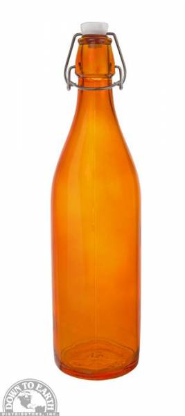 Down To Earth - Bormioli Rocco Giara Bottle 1 Liter - Orange