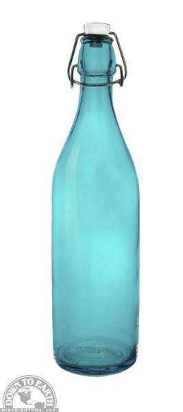 Down To Earth - Bormioli Rocco Giara Bottle 1 Liter - Teal
