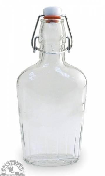 Down To Earth - Bormioli Rocco Glass Flask 0.25 Liter