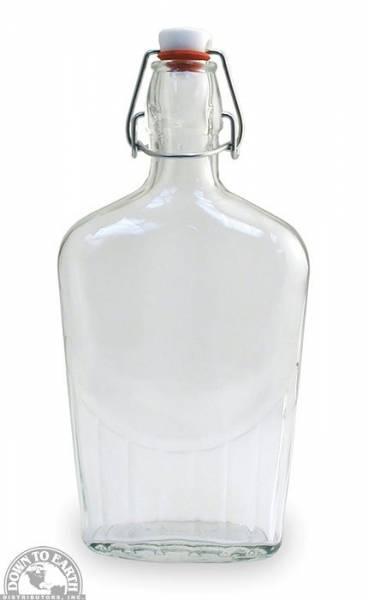 Down To Earth - Bormioli Rocco Glass Flask 0.5 Liter