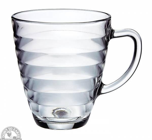 Down To Earth - Bormioli Rocco Viva Glass Coffee Mug 10.5 oz