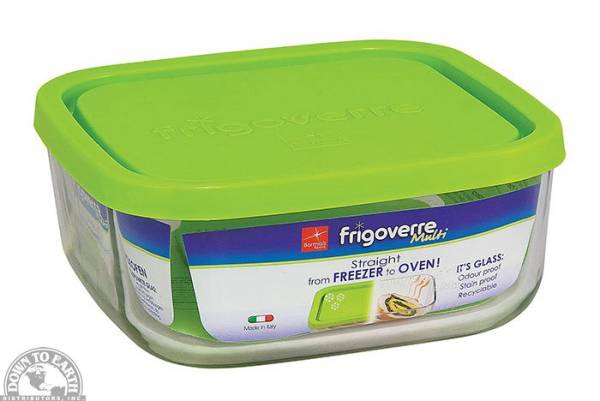 Down To Earth - Bormiolo Rocco Frigooverre Multi Storage Dish Square Small 25.5 oz