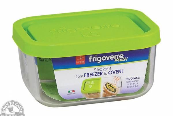 Down To Earth - Bormiolo Rocco Frigooverre Multi Storage Dish Rectangle Small 13.5 oz