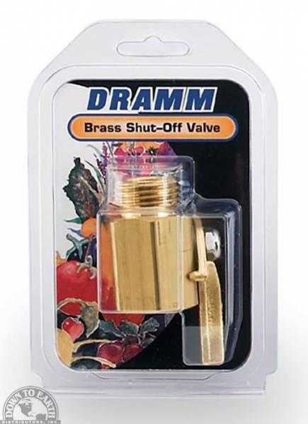 Down To Earth - Dramm Brass Shut-Off Valve