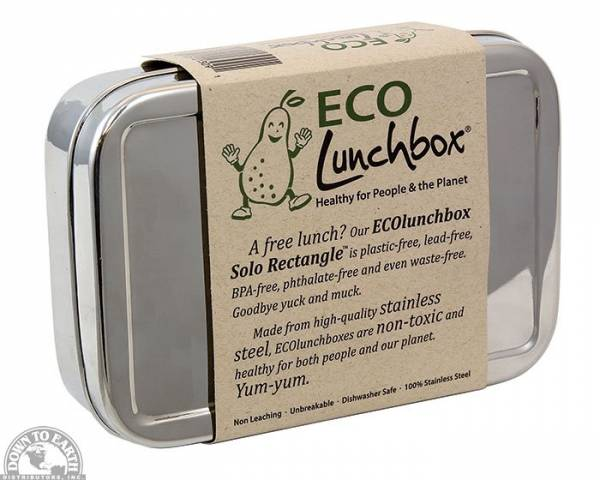 Down To Earth - Eco Lunchbox Solo Rectangle