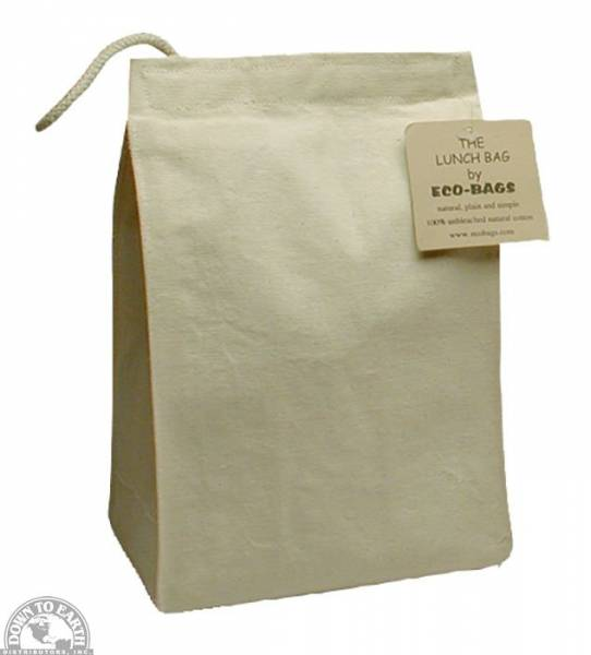 Down To Earth - Eco-Bags Cotton Canvas Lunch Bag