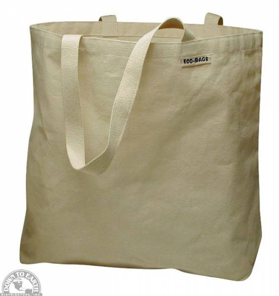 Down To Earth - Eco-Bags Cotton Canvas Tote Bag