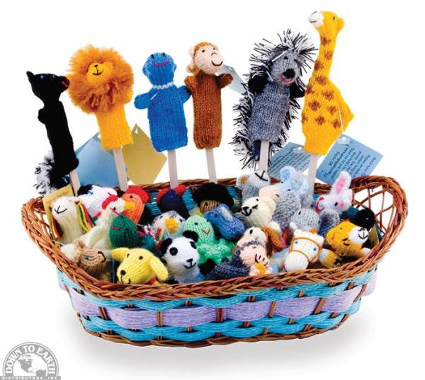 Down To Earth - Peru Puppets Finger Puppets