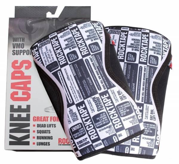 RockTape - RockTape Knee Caps 5mm Large - Black Manifesto