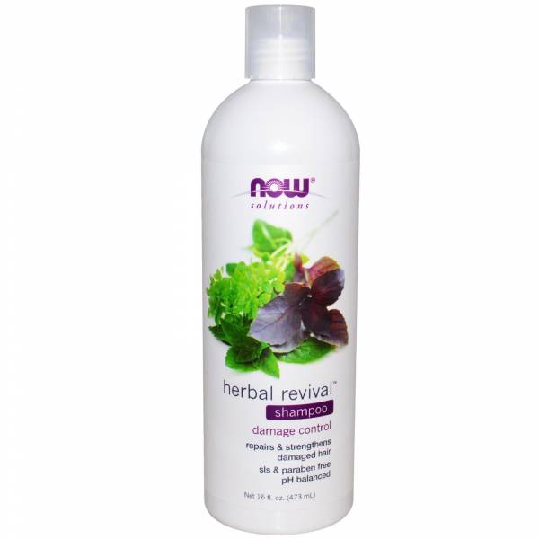 Now Foods - Now Foods Herbal Revival Shampoo 16 oz