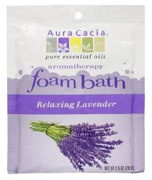 Aura Cacia - Aura Cacia Aromatherapy Foam Bath 2.5 oz- Lavender
