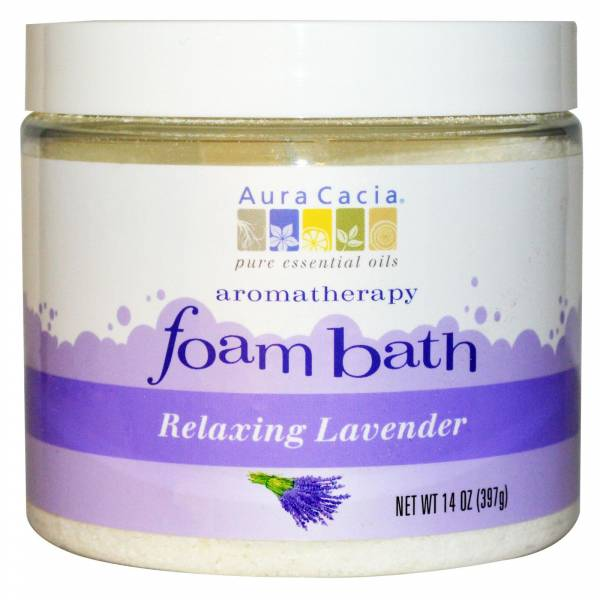 Aura Cacia - Aura Cacia Aromatherapy Foam Bath 14 oz- Lavender