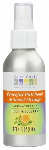 Aura Cacia - Aura Cacia Aromatherapy Mist 4 oz- Patchouli/Orange