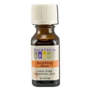 Aura Cacia - Aura Cacia Aromatherapy Oil Blend 0.5 oz-  Deep Heat