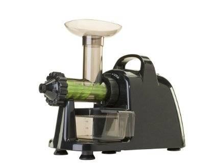 Lexen - Lexen Healthy Juicer Electric Single Gear Masticating