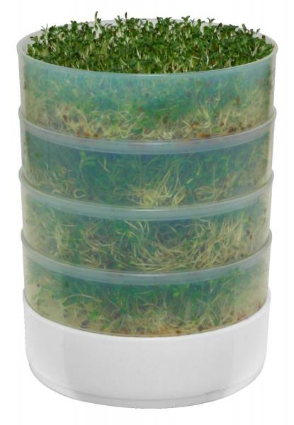 Miracle Exclusives - Miracle Exclusives Biosta Three-Tier Sprouter - Green