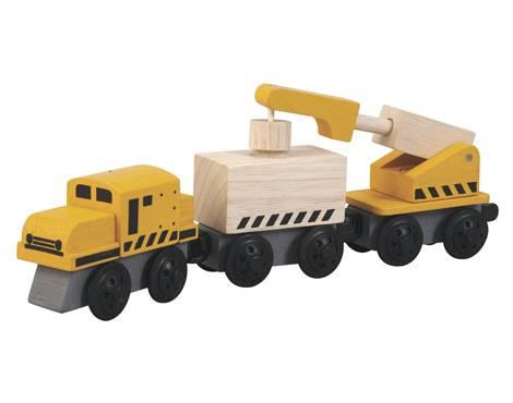 Plan Toys - Plan Toys Crane Train