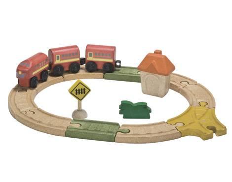 Plan Toys - Plan Toys Railway - Oval Set