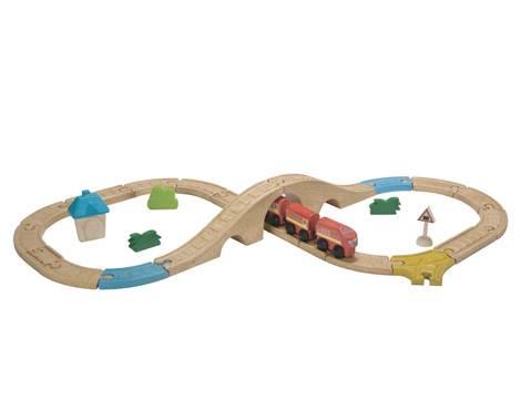 Plan Toys - Plan Toys Railway - Figure Eight Set