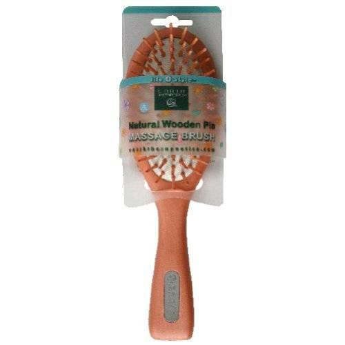 Earth Therapeutics - Earth Therapeutics Wooden Pin Brush - Small