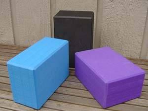 Barefoot Yoga - Barefoot Yoga Eco-Friendly Foam Yoga Blocks - Blue