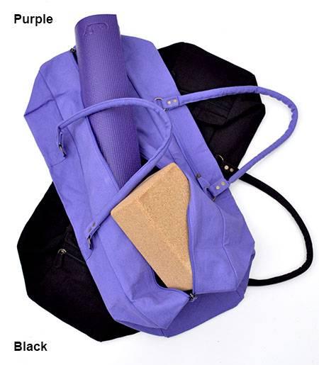 Barefoot Yoga - Barefoot Yoga Urban Yoga Mat Bag XL - Eggplant