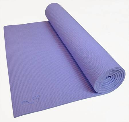 "Barefoot Yoga - Barefoot Yoga Hybrid Eco Mat 1/8"" - Violet"