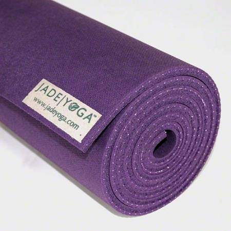 "Jade Yoga - Jade Yoga Harmony Professional Yoga Mat 24"" x 68"" - Purple"