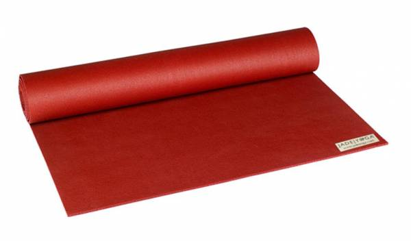 "Jade Yoga - Jade Yoga Fusion Yoga and Pilates Mat 24"" x 68"" - Sedona Red"