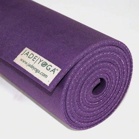 "Jade Yoga - Jade Yoga Fusion Yoga and Pilates Mat 24"" x 74"" - Purple"
