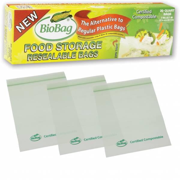 BioBag - BioBag Resealable Food Storage Bags