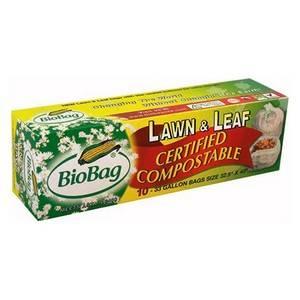 BioBag - BioBag Lawn & Leaf Bag 10 ct 33 Gallon