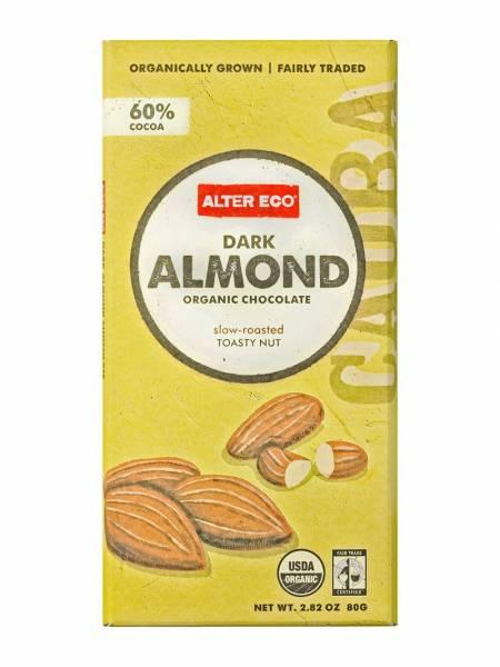 Alter Eco - Alter Eco Alter Eco Dark Almond Organic Chocolate 2.82 oz (4 Pack)