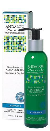 Andalou Naturals - Andalou Naturals Kombucha Citrus Cleansing Gel