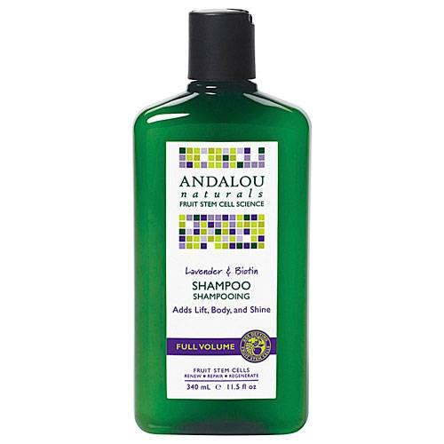 Andalou Naturals - Andalou Naturals Lavender and Biotin Full Volume Shampoo
